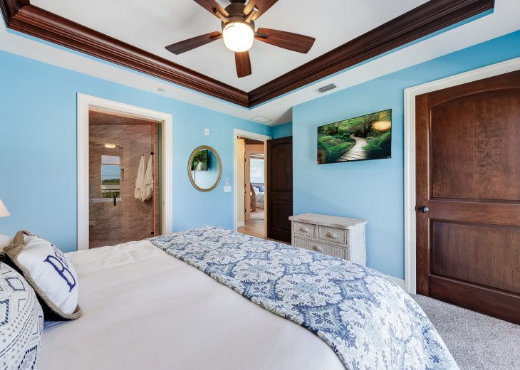 The Seascape – 8BR/9BA Beachfront, Heated Shared Pool, Private Access to Beach #96