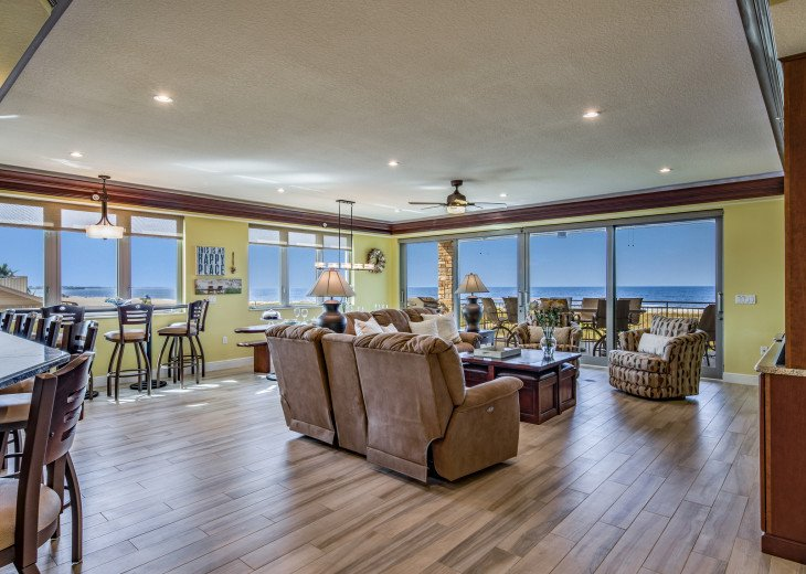 The Seascape – 8BR/9BA Beachfront, Heated Shared Pool, Private Access to Beach #9