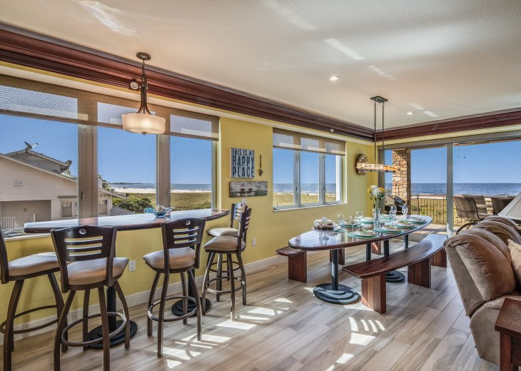 The Seascape – 8BR/9BA Beachfront, Heated Shared Pool, Private Access to Beach #26