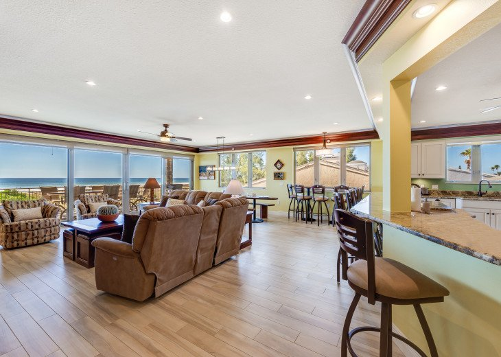 The Seascape – 8BR/9BA Beachfront, Heated Shared Pool, Private Access to Beach #65