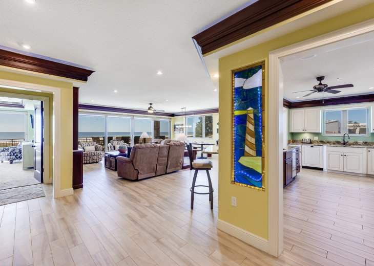The Seascape – 8BR/9BA Beachfront, Heated Shared Pool, Private Access to Beach #63