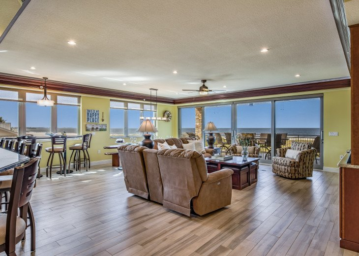 The Seascape – 8BR/9BA Beachfront, Heated Shared Pool, Private Access to Beach #14