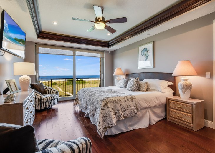 The Seascape – 8BR/9BA Beachfront, Heated Shared Pool, Private Access to Beach #40