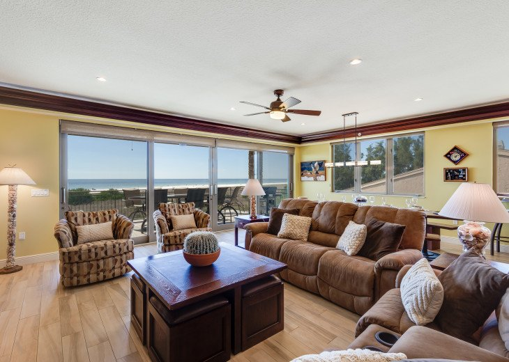 The Seascape – 8BR/9BA Beachfront, Heated Shared Pool, Private Access to Beach #64
