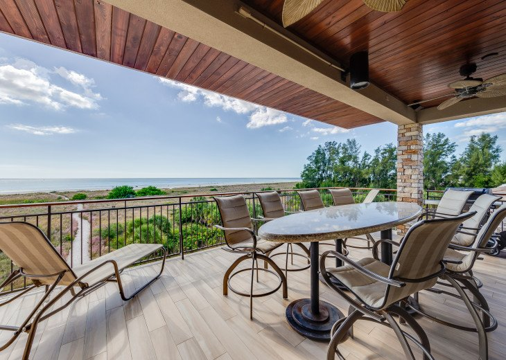 The Seascape – 8BR/9BA Beachfront, Heated Shared Pool, Private Access to Beach #107