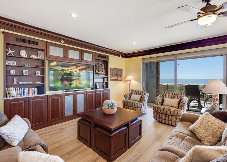 The Seascape – 8BR/9BA Beachfront, Heated Shared Pool, Private Access to Beach #67