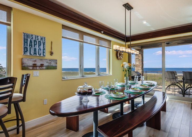 Ocean's Edge- 4BR/4.5BA Beachfront Condo, Heated Pool, With Private Beach Access #19