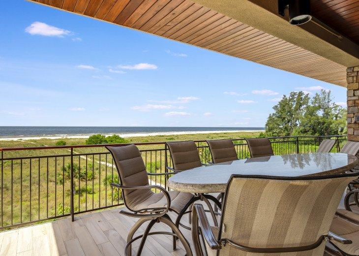 Ocean's Edge- 4BR/4.5BA Beachfront Condo, Heated Pool, With Private Beach Access #59