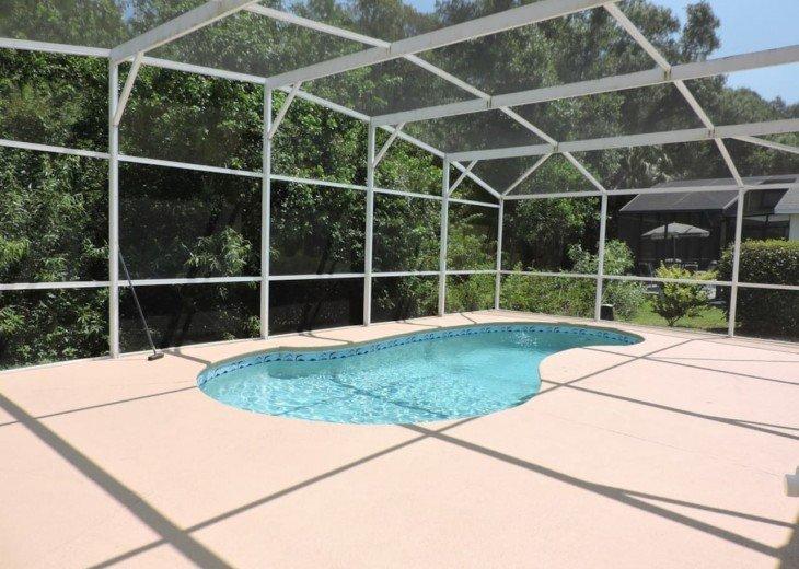 Massive pool deck