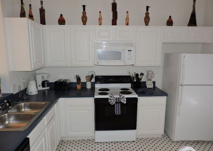 Fully equpped kitchen, everything is provided