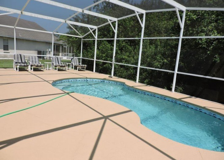 Your private South facing pool