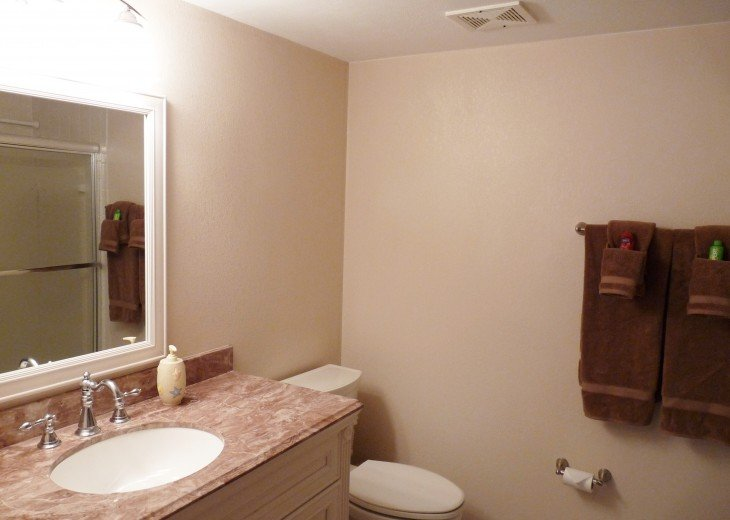 Guest Bathroom with Shower/Bathtub