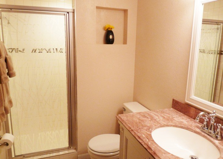 En Suite Private Master Bathroom with Walk-In Shower