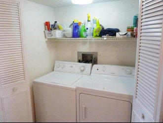 In Unit Washer/Dryer Closet (Initial Detergent & Dryer Sheets Provided)