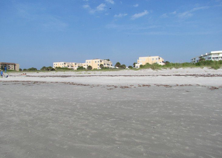 View of Condo From Beach