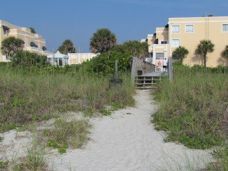Walkway Over Beach Dunes