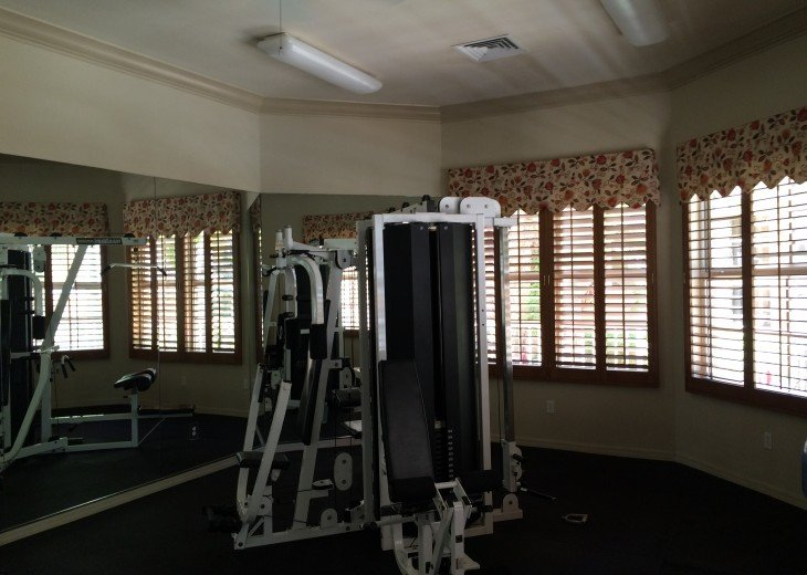Workout room - Treadmills and excercise bikes too!
