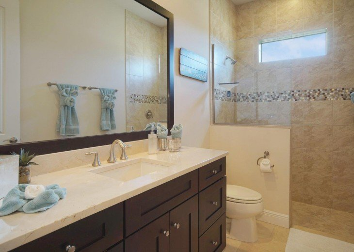 3rd bathroom of the villa in Cape Coral, Florida