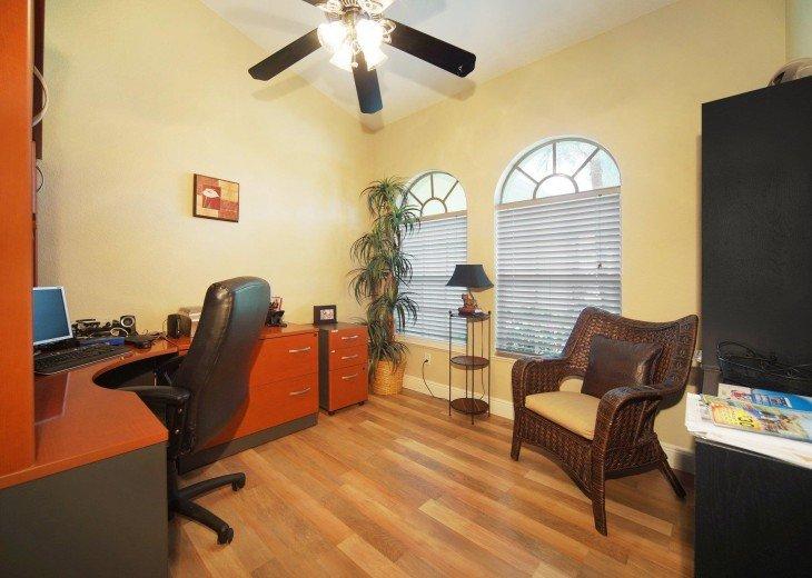 Office room ot the Villa in Cape Coral