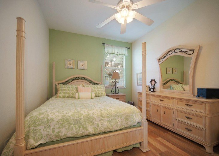 3rd bedroom of the Villa in Cape Coral, Florida