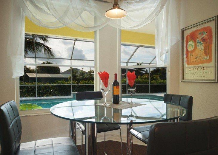 Breakfast corner of the Villa in Cape Coral