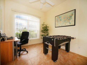 Office romm of the holiday home in Cape Coral
