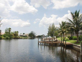 Wunderfull view at the canal, Cape Coral