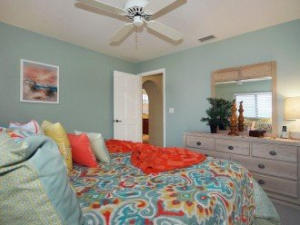 2nd bedroom of the Villa in Cape Coral, Florida