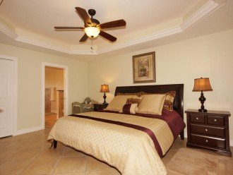 Master bedroom of the property in Cape Coral