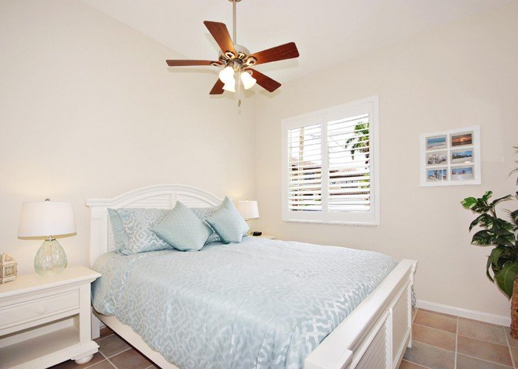 2nd bedroom of the Villa on Pine Island, Florida