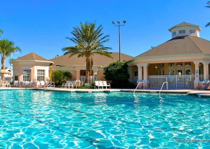 5 Star Updated Windsor Palms Pool Home with 2 Master bedrooms. 4 Bed 3 Bath #30