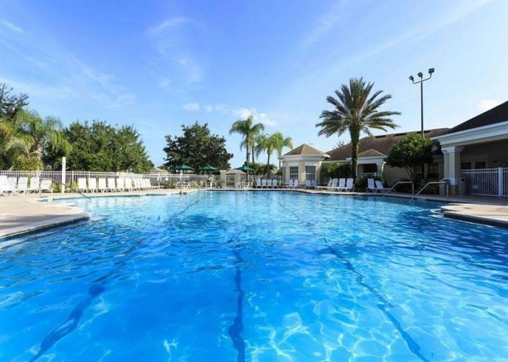 5 Star Updated Windsor Palms Pool Home with 2 Master bedrooms. 4 Bed 3 Bath #29
