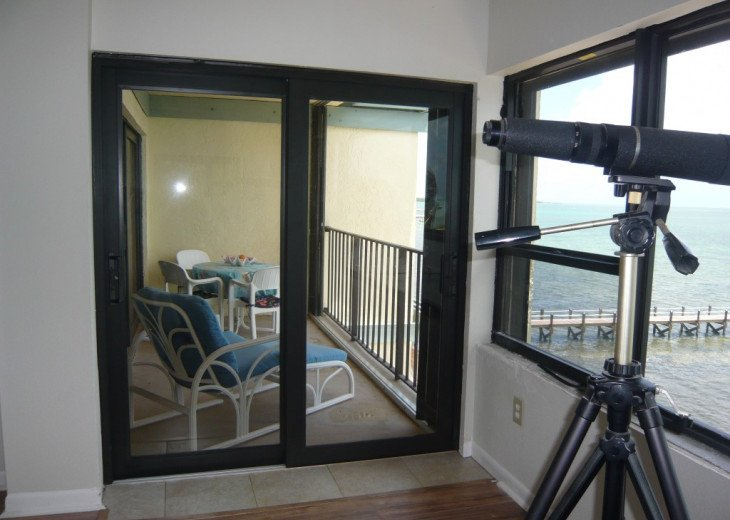 King Bedroom Balcony Access
