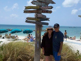 Your hosts at Ft. Zachary Taylor State Park Beach