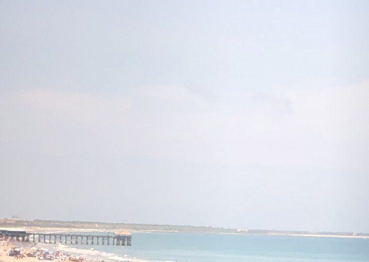 View of the cocoa beach Pier from your balcony