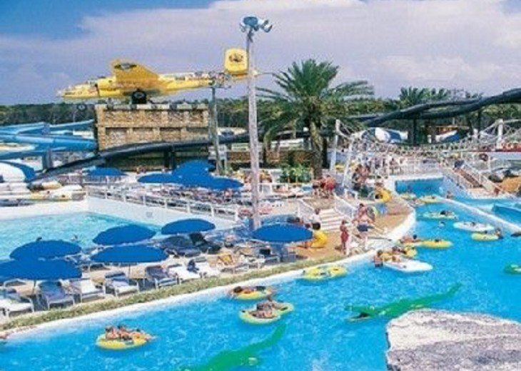 Take the kids to the Big Kahuna Water Park