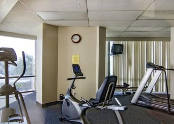 State of the Art Fitness Center on the 1st floor.