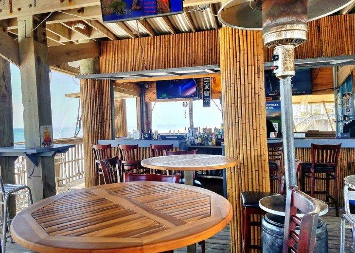 Inside of the Beach Bar on the 1st Floor of the Beach Tower