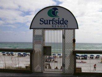 Surfside Resort Privat Beach Gate
