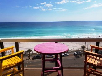 Enjoy the View of the Gulf and the Entire Coastline From Your Private Balcony :)