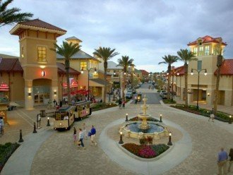 Outside Shopping Mall Destin Commons. Restaurants Shopping also a Movie Theater