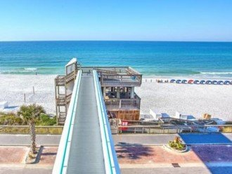 Only Sky Bridge in Destin over the street to the Water and White Pristine Sand