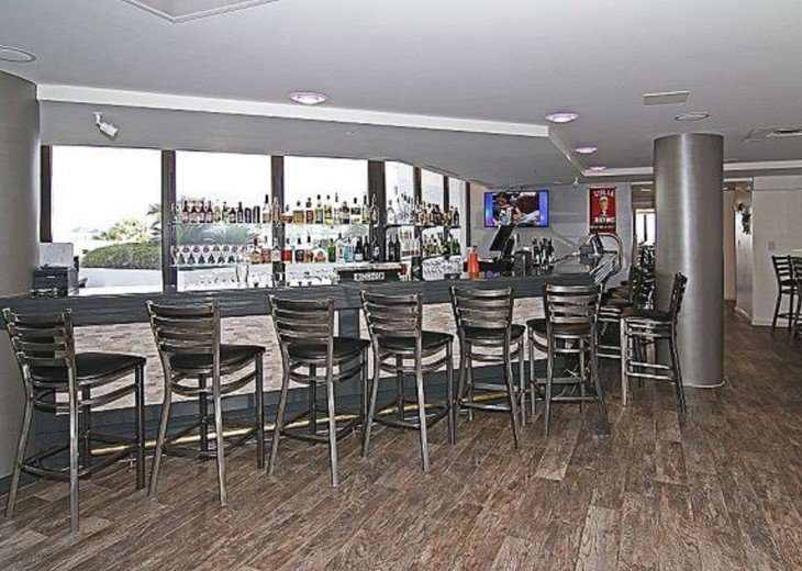 Surfside Bar on the 1st floor.