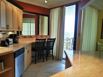 Large Kitchen has patio access & everything for Gourmet Cooking