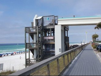 Use the boardwalk walk smell the fresh air listen to the surf watch birds fly