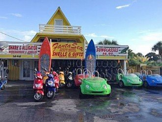 Fantasea Scooter & Bike rentals 1 block West of Surfside Resort