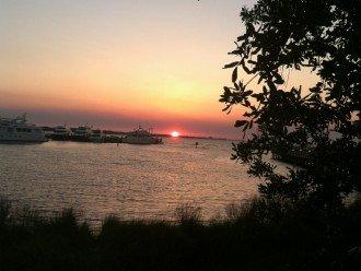 A guaranteed beautiful sunset to finish the day!