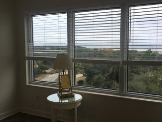 Read and watch sunrise and sunset on the recliner by the master bedroom window