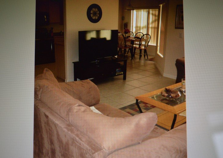 Refinished/Painted S. Facing Pool/Spa, Updated Decor, Near Disney, Sleeps 8 #20