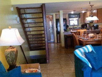 LR w/2 sleepers, BA w/shower, fully equipped kitchen w/many appliances & dishes